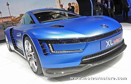 Volkswagen XL Sport à moteur Ducati