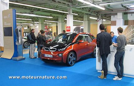 La BMW i3 à l'essai au Mondial