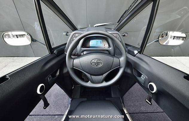 Cité Lib, l'autopartage de Toyota i-Road à Grenoble