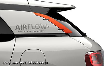 Démonstrateur technologique Citroën C4 Cactus Airflow hybride-air