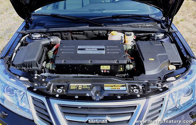 NEVS Saab 9-3 électrique