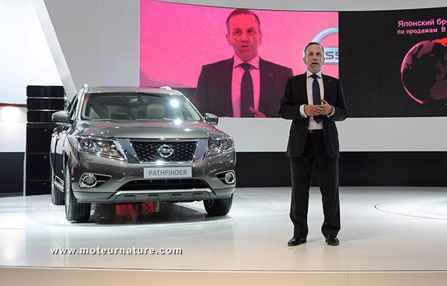 Nissan Pathfinder hybride