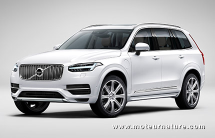 volvo xc90 t8 hybride rechargeable. Black Bedroom Furniture Sets. Home Design Ideas