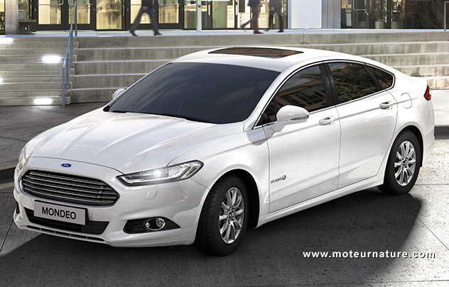 officiel une ford mondeo hybride 99 g km de co2. Black Bedroom Furniture Sets. Home Design Ideas
