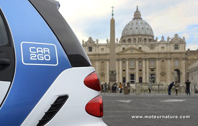car2go à Rome
