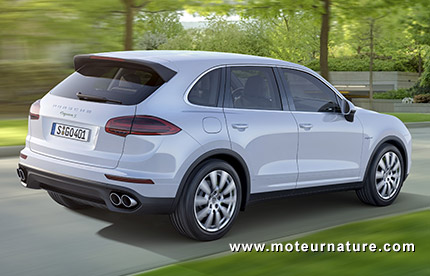 porsche cayenne s e hybrid rechargeable de luxe. Black Bedroom Furniture Sets. Home Design Ideas