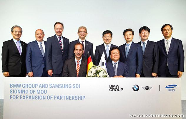 BMW avec Samsung SDI
