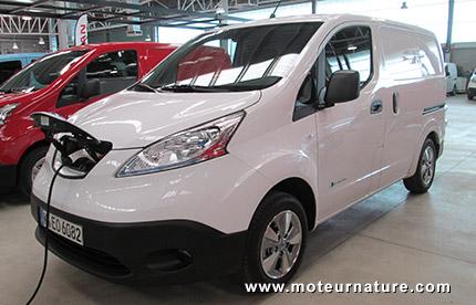 L'utilitaire électrique Nissan e-NV200