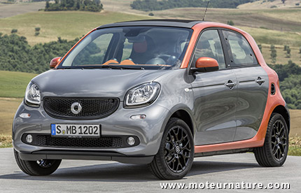 smart fortwo forfour int gralement nouvelles. Black Bedroom Furniture Sets. Home Design Ideas