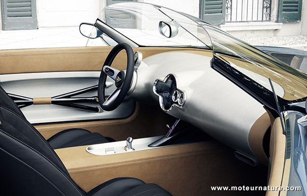 Mini Touring Superleggera Vision concept électrique