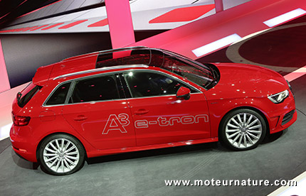 De l'électricité renouvelable pour l'Audi e-tron en Allemagne