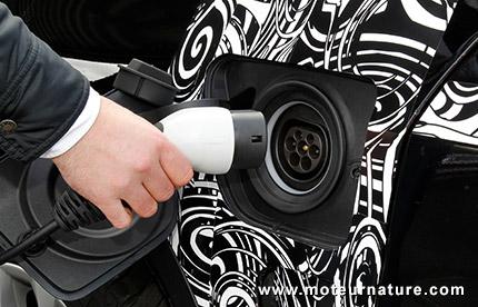 BMW X5 eDrive hybride rechargeable