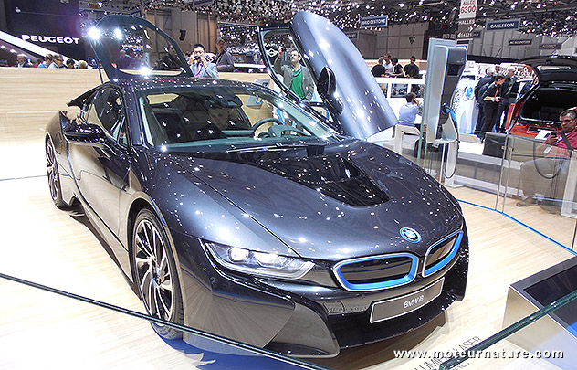 Succès annoncé pour la BMW i8