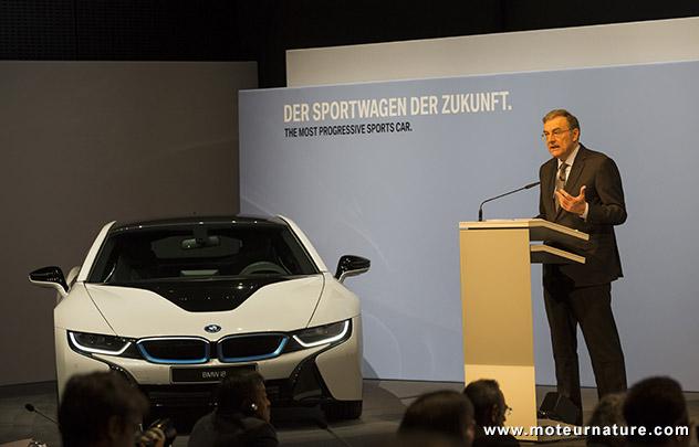 En pleine forme, BMW fixe des objectifs à BMWi