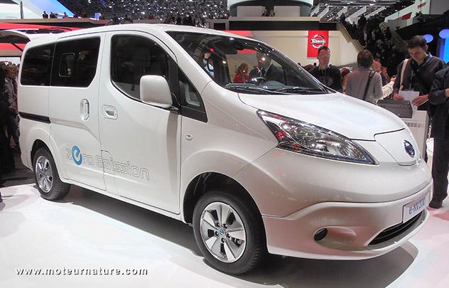 Nissan e-NV200: à partir de 14310€