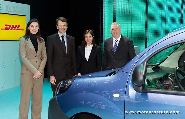 Renault Z.E. développe son partenariat avec DHL