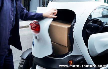 Le Renault Twizy Cargo est au catalogue