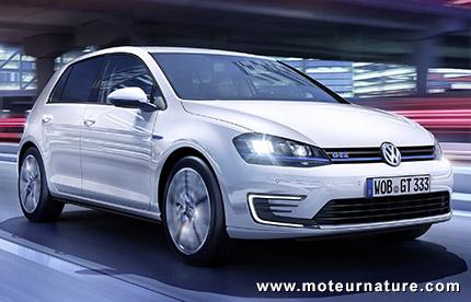 Volkswagen Golf GTE hybride rechargeable