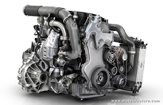 Moteur Renault diesel Energy dCi 160 ch Twin Turbo