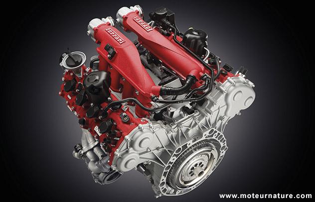 V8 de la Ferrari California