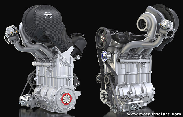 Nissan ZEOD engine