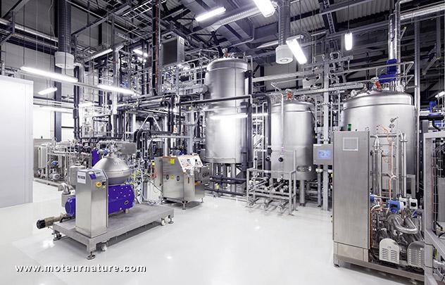 Global Bioénergies avec Audi