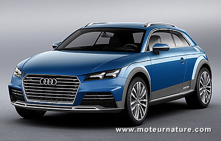 audi allroad shooting brake e tron hybride rechargeable. Black Bedroom Furniture Sets. Home Design Ideas