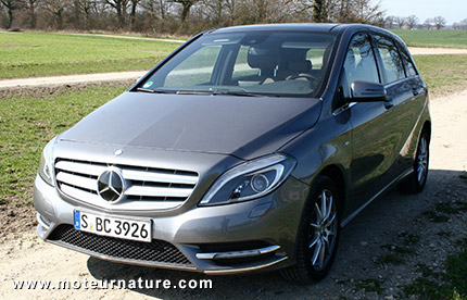Mercedes B180 CDI Blue Efficiency