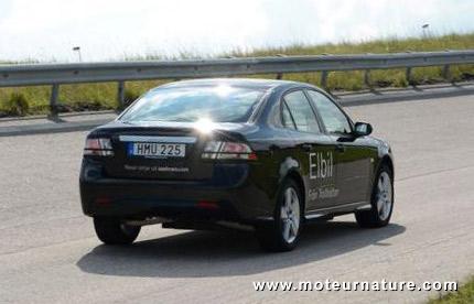 NEVS électrique ex-Saab