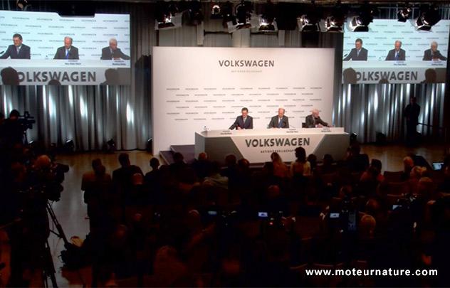 Conférence Volkswagen