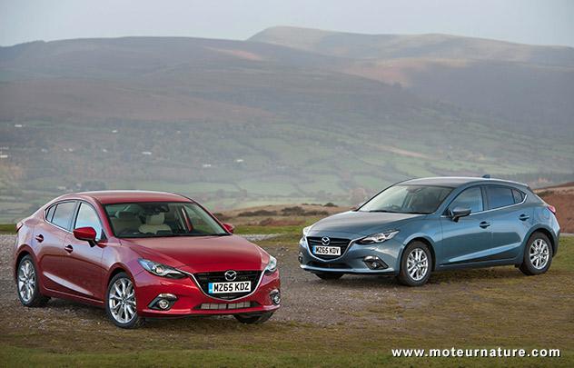 Mazda 3 99 g/km de CO2
