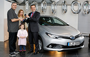 SCOOP : un million d'hybrides Toyota