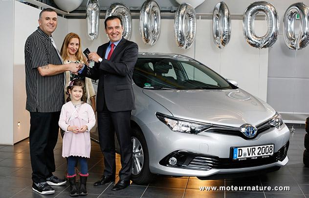 La millionième Toyota hybride en Europe