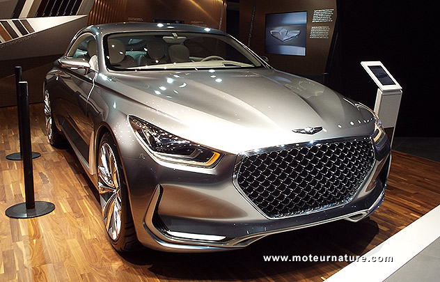 Hyundai Genesis Vision G concept