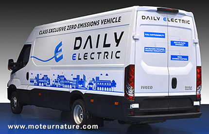 Iveco Daily Electric, désormais avec 280km d'autonomie