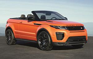 La tentation du Range Rover Evoque cabriolet