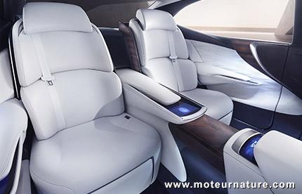 Lexus LF FC avec pile à combustible à hydrogène
