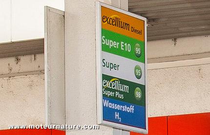 Nouvelles stations d'hydrogène*