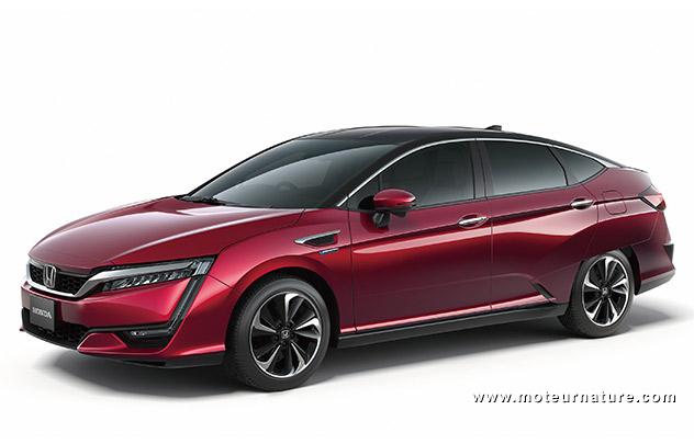 Honda FCV, la nouvelle génération