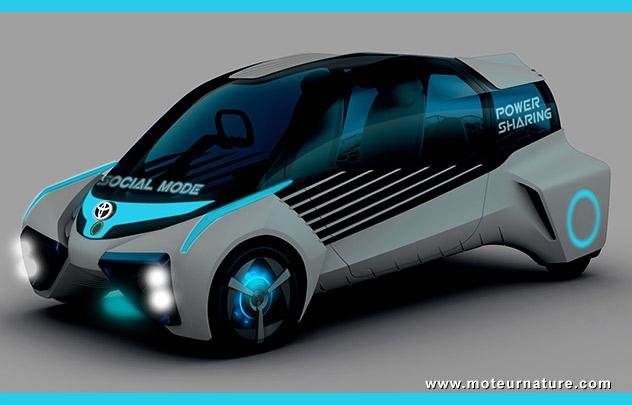 Concept Toyota FCV Plus