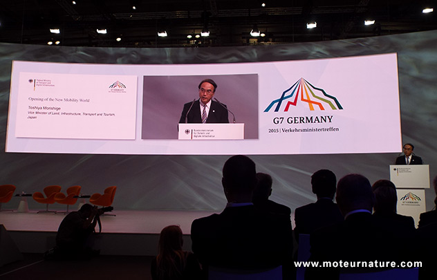 Le G7 s'organise pour la voiture intelligente et autonome