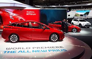 Francfort: nouvelles de la PriusIV