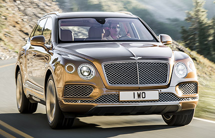 Bentley Bentayga, où est la compensation CO2?