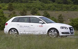 L'hybride léger selon Bosch serait promis à un grand avenir