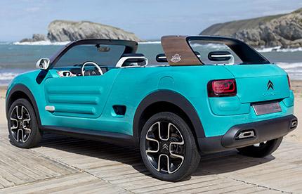 Objectif plage pour le Citroën CactusM