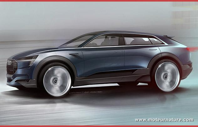 Une future vedette: Audi e-tron quattro concept