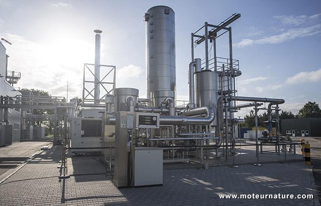 Usine e-gas d'Audi à Werlte