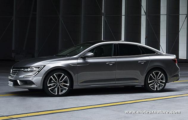 Gamme incomplète pour la nouvelle Renault Talisman