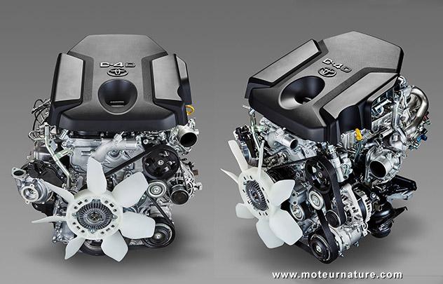 Moteur diesel Toyota D-4D