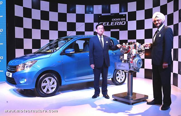 Premiere du Suzuki Celerio avec le nouveau moteur diesel